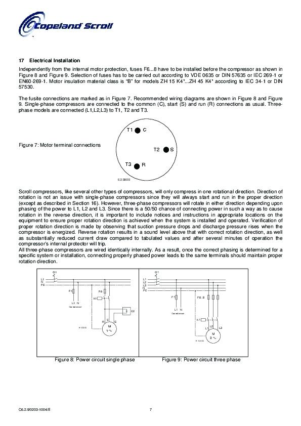 Rt 0242 Collection Copeland Wiring Diagram Pictures Diagrams Wiring Diagram