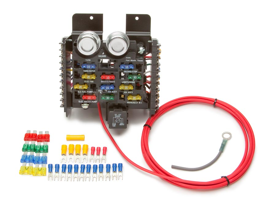 Awesome Race Pro Street Pre Wired 16 Circuit Fuse Block Painless Performance Wiring Cloud Icalpermsplehendilmohammedshrineorg