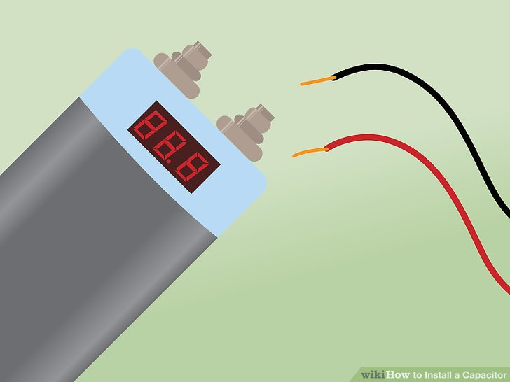 Magnificent How To Install A Capacitor With Pictures Wikihow Wiring Cloud Domeilariaidewilluminateatxorg