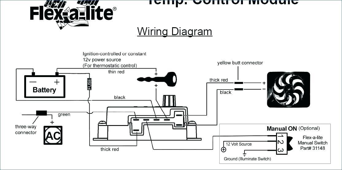 Flex A Lite Electric Fan Wiring Diagram Dodge Www Gua