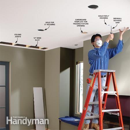 Installing Led Recessed Ceiling Lights