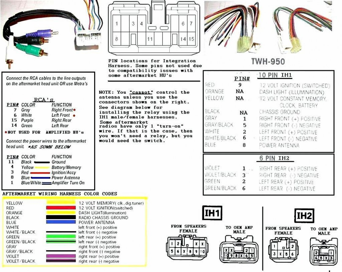 Wiring Diagram For Pioneer Deh P3600