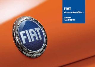 Excellent Fiat Barchetta Owners Manual By Renato Grelloni Issuu Wiring Cloud Licukaidewilluminateatxorg