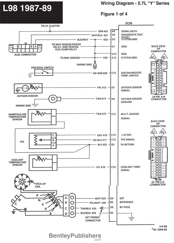1987 Corvette Engine Wiring Diagram - Wiring Diagram