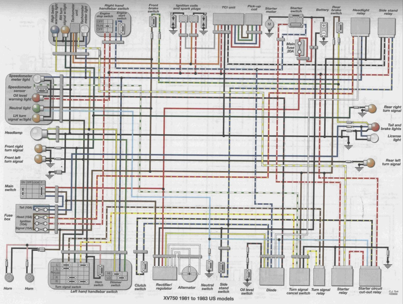 [DIAGRAM_5FD]  1994 Yamaha 750 Virago Wiring Diagram - Piping Instrumentation Diagram  Pictures for Wiring Diagram Schematics | Virago 750 Wiring Diagram |  | Wiring Diagram Schematics