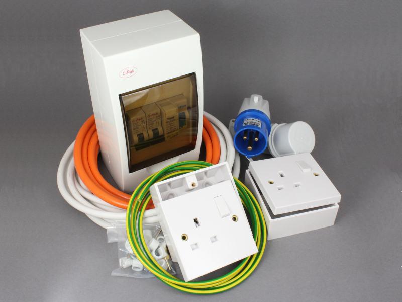 Brilliant 240V Mains Hook Up Installation Kit 12 Volt Planet Wiring Cloud Vieworaidewilluminateatxorg