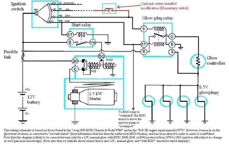 1992 isuzu npr wiring to starter wk 2542  addition isuzu npr glow plug relay location on w4500  addition isuzu npr glow plug relay