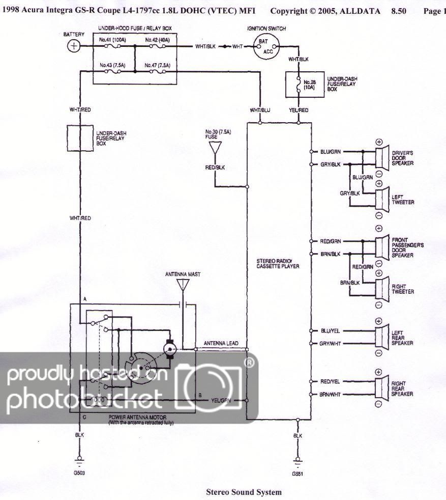 40 Integra Cruise Control Wiring Diagram   Db40 Cable Wiring ...