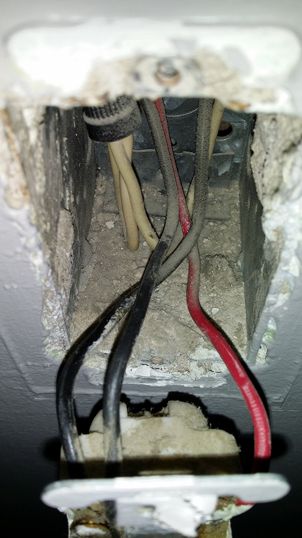 Fabulous Electrical Replacing 60 Year Old Light Switch Which Wires Go Wiring Cloud Intelaidewilluminateatxorg
