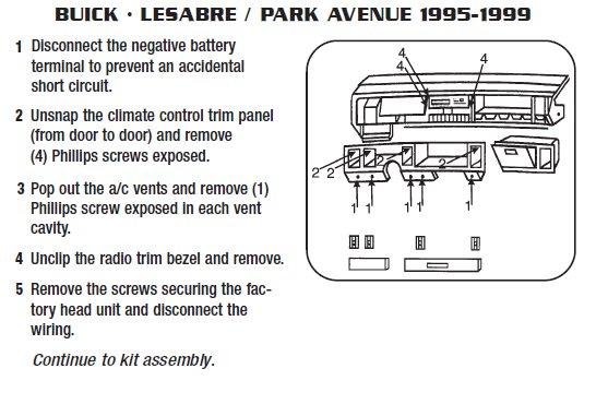 gh7740 2005 buick lesabre radio wiring schematic wiring