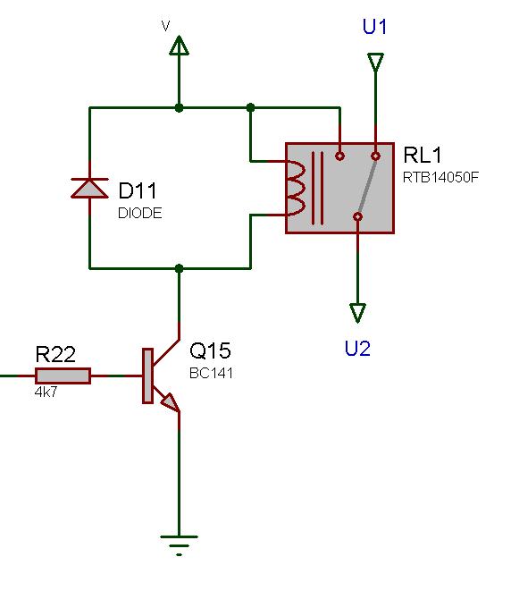 interposing relay wiring diagram ot 7471  relay switch circuit  ot 7471  relay switch circuit