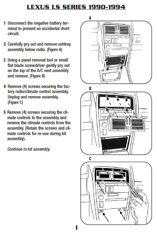 1990 lexus ls400 wiring diagram kc 4637  1992 lexus ls400 parts catalog  kc 4637  1992 lexus ls400 parts catalog