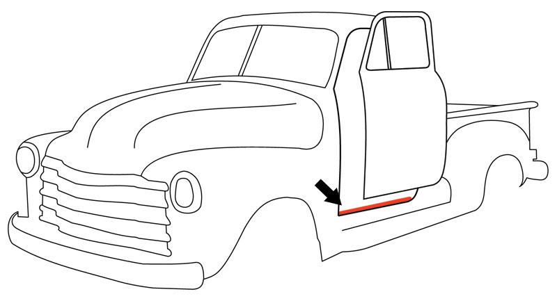 1950 chevy truck wiring diagram vr 0805  vr 0805