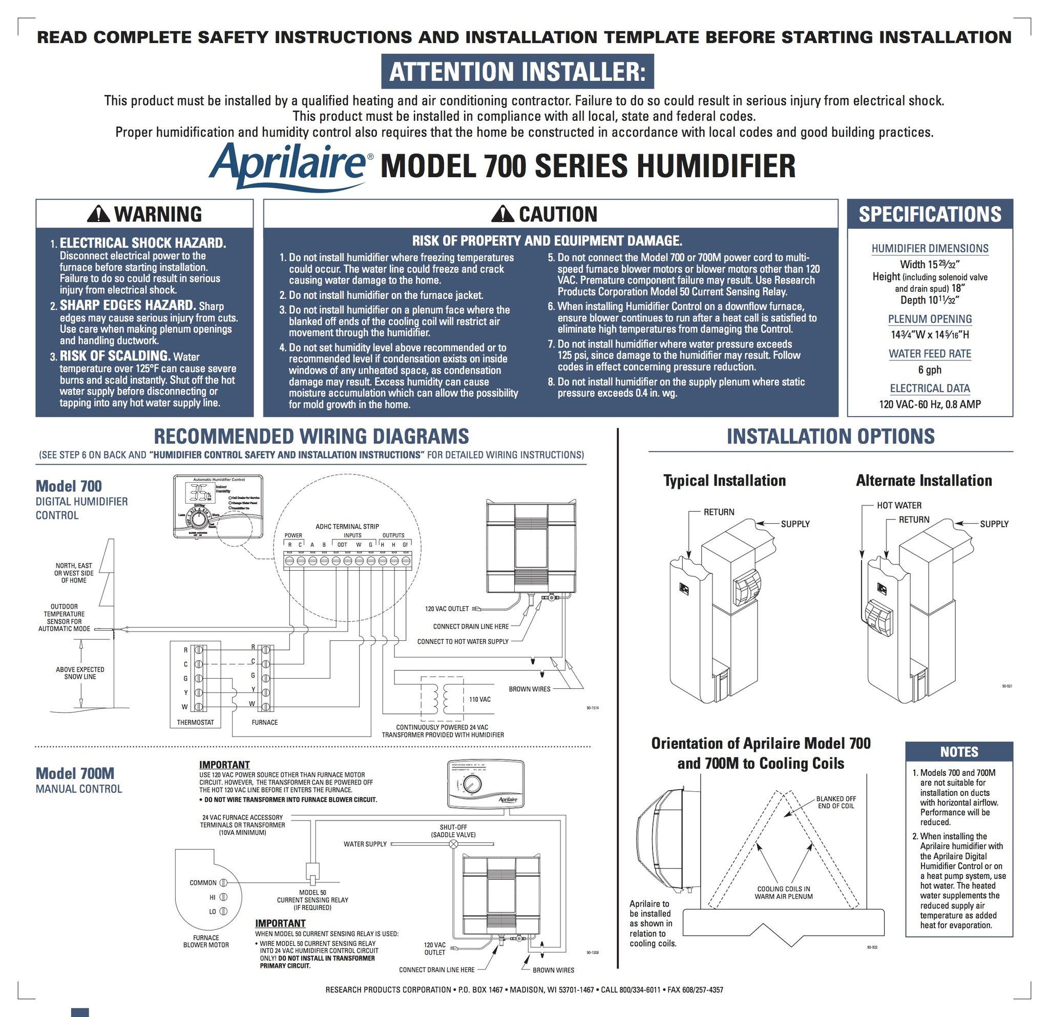 Ar 2563  Aprilaire Humidistat Wiring Wiring Diagram