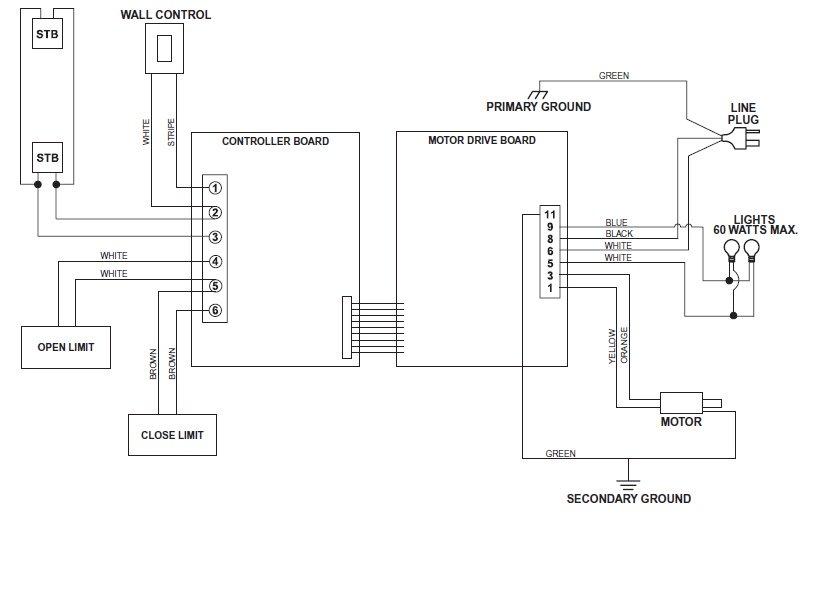 genie garage door openers sensor wiring diagrams genie wiring schematic wiring diagram data  genie wiring schematic wiring diagram