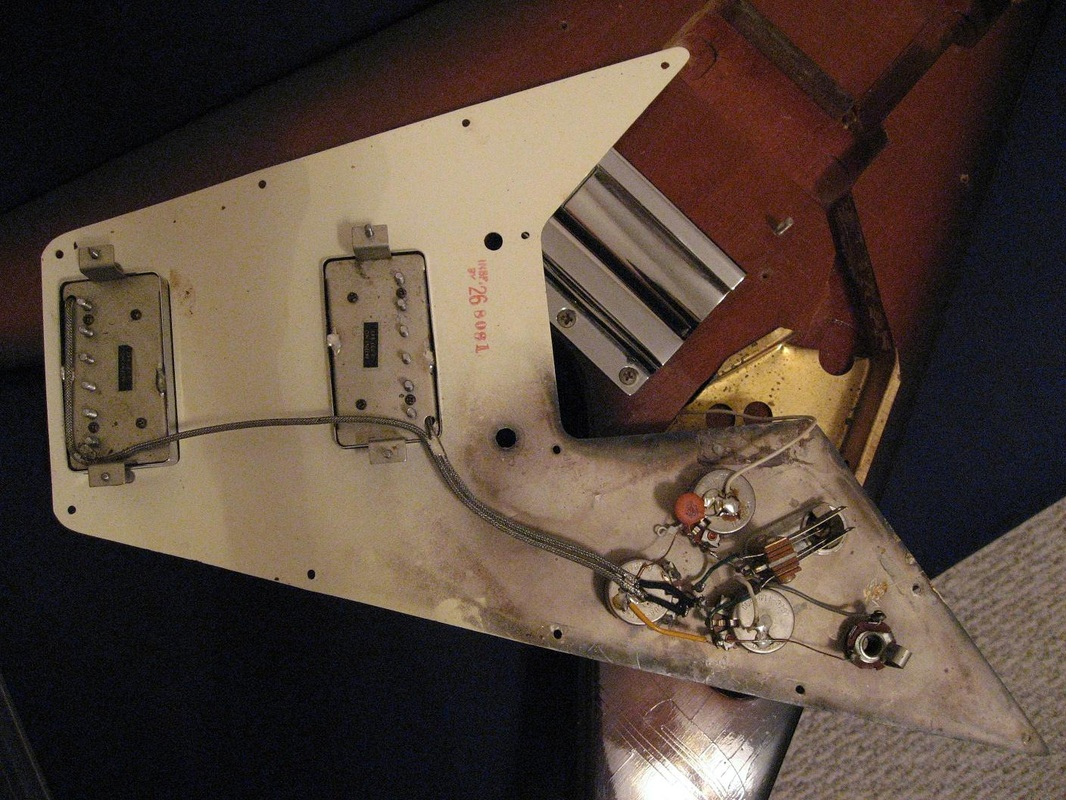 Swell Details Parts The 1967 1971 Gibson Flying V Website Wiring Cloud Filiciilluminateatxorg