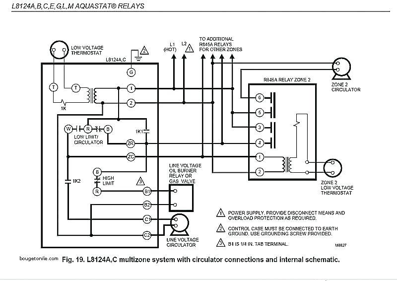 Honeywell R845a Relay Wiring Diagram
