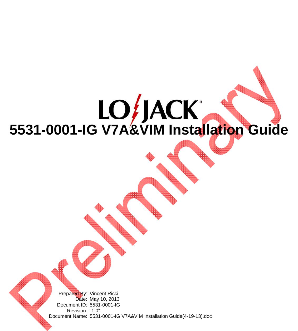 Strange Vim Vehicle Recovery Transceiver V7A User Manual Lojack Wiring Cloud Eachirenstrafr09Org