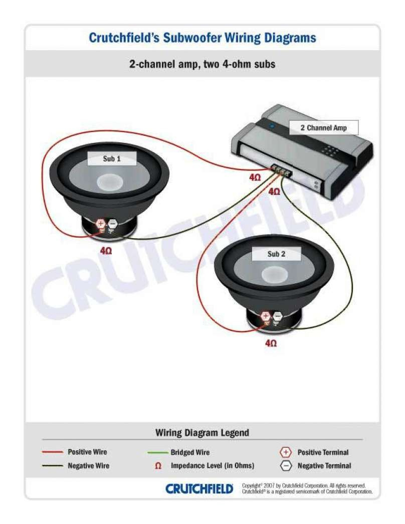 Svc 4 Ohm Wiring Diagram Crutchfield - Options -Indexes for Wiring Diagram  Schematics Wiring Diagram Schematics