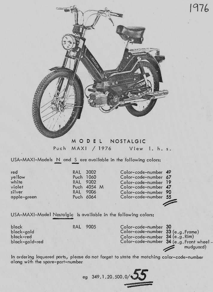 Astounding Puch Parts Myrons Mopeds Wiring Cloud Mousmenurrecoveryedborg