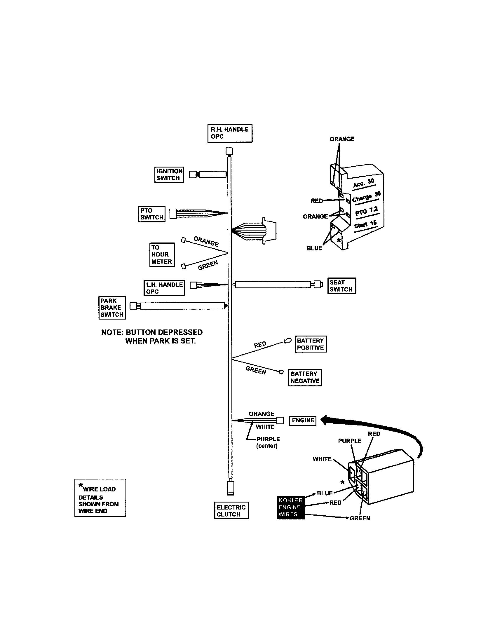 Phenomenal Kohler Engine Wire Harness Basic Electronics Wiring Diagram Wiring Cloud Animomajobocepmohammedshrineorg