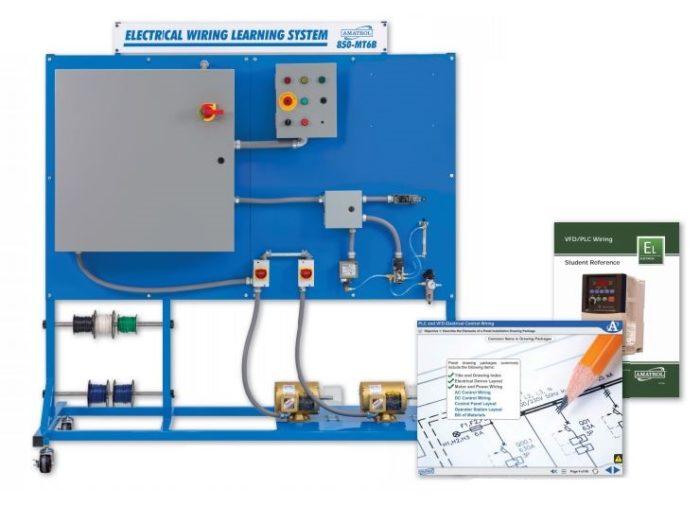 Astonishing Vfd Wiring And Plc Wiring Electrical Wiring Training Amatrol Wiring Cloud Monangrecoveryedborg