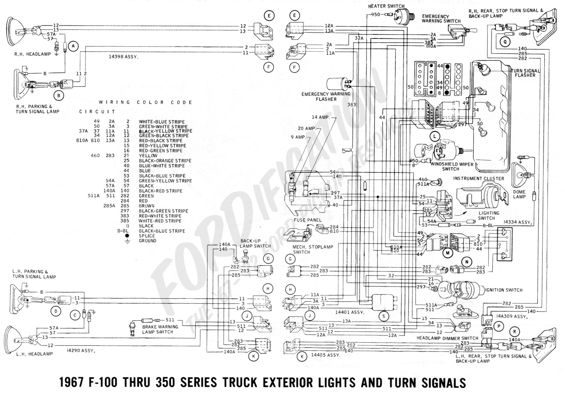 Fabulous Ford Truck Ignition Wiring Basic Electronics Wiring Diagram Wiring Cloud Domeilariaidewilluminateatxorg