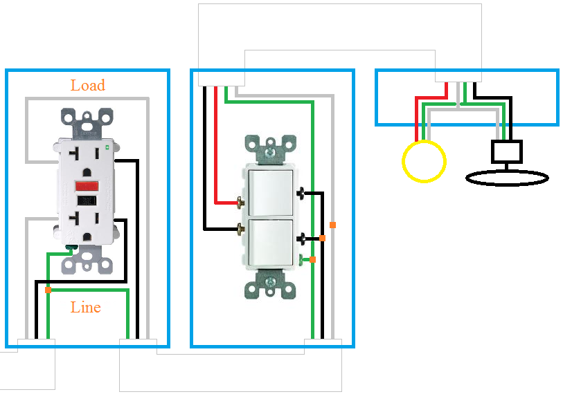 [ZTBE_9966]  Installing A Bathroom Exhaust Fan With Light - Image of Bathroom and Closet | Wiring Diagram For A Bathroom Extractor Fan |  | Image of Bathroom and Closet