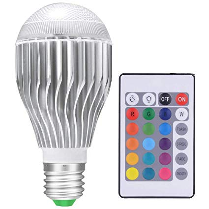 Phenomenal Led Light Bulbs Color Changing Light Bulb Colorful Magic Rgb Bulb Wiring Cloud Intelaidewilluminateatxorg