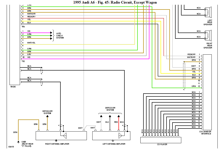 Audi A6 1999 Wiring Diagram - wiring diagram ground-earth -  ground-earth.vaiatempo.it | Audi A6 1999 Wiring Diagram |  | Vai a Tempo!