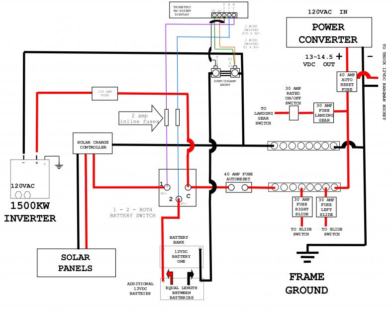 battery isolator wiring diagram with converter ft 8802  rv trailer battery wiring schematic wiring  rv trailer battery wiring schematic wiring