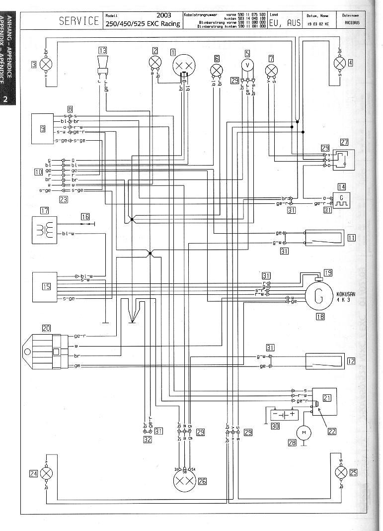 Ktm 525 Exc Wiring Diagram