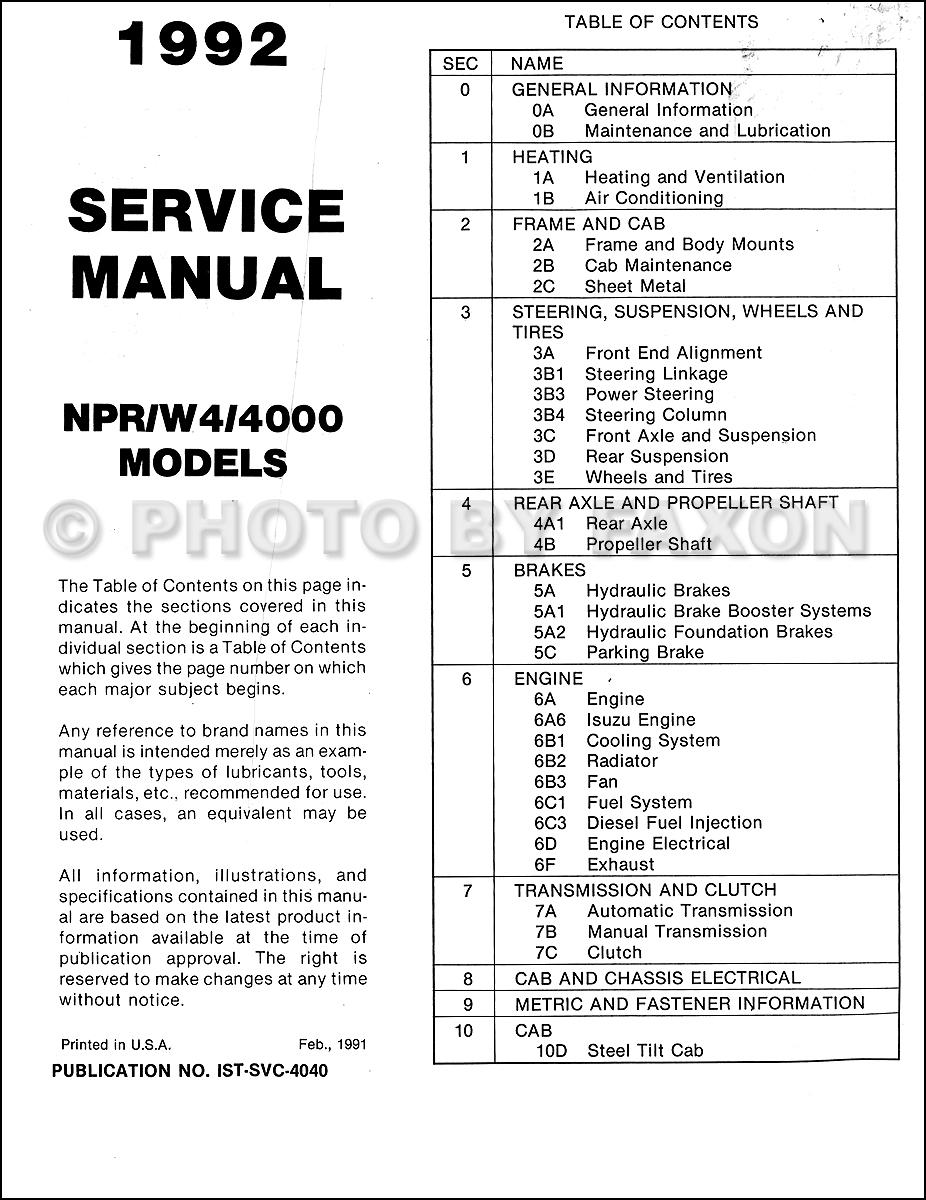 1992 isuzu npr wiring to starter lm 2847  isuzu npr wiring schematic  lm 2847  isuzu npr wiring schematic