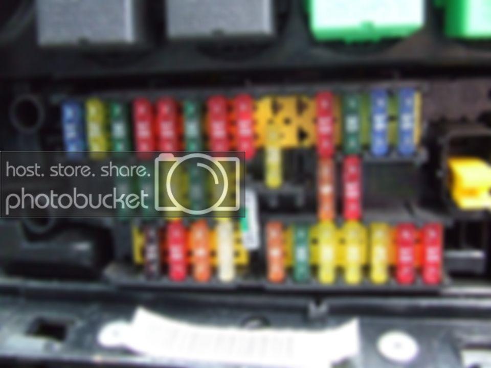 Fuse Box Layout Peugeot 406 Hdi