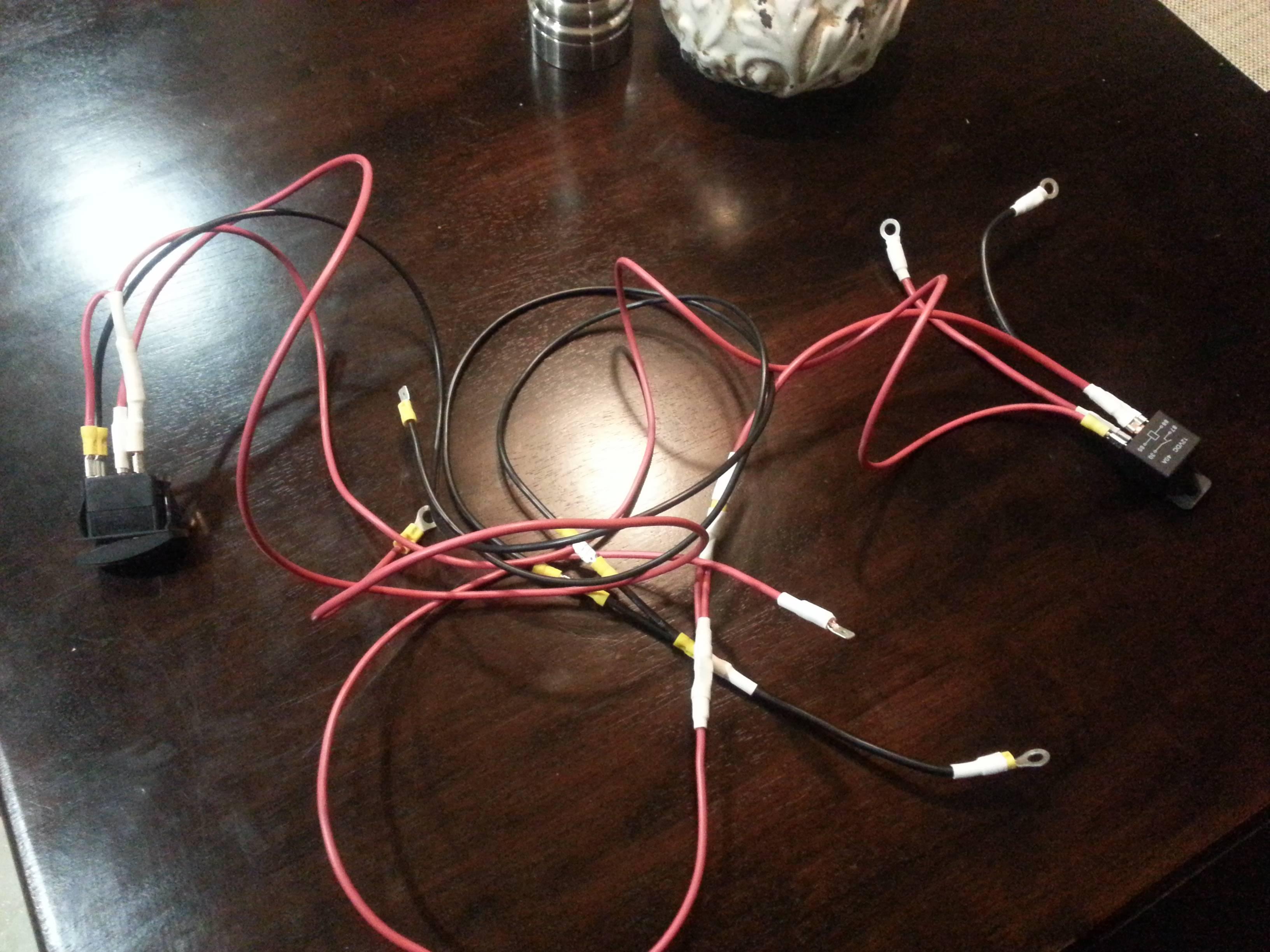 Prime Headlight Wiring Help Please Polaris Rzr Forum Rzr Forumsnet Basic Wiring Cloud Ittabisraaidewilluminateatxorg