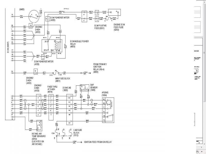 International 1086 Wiring Diagram
