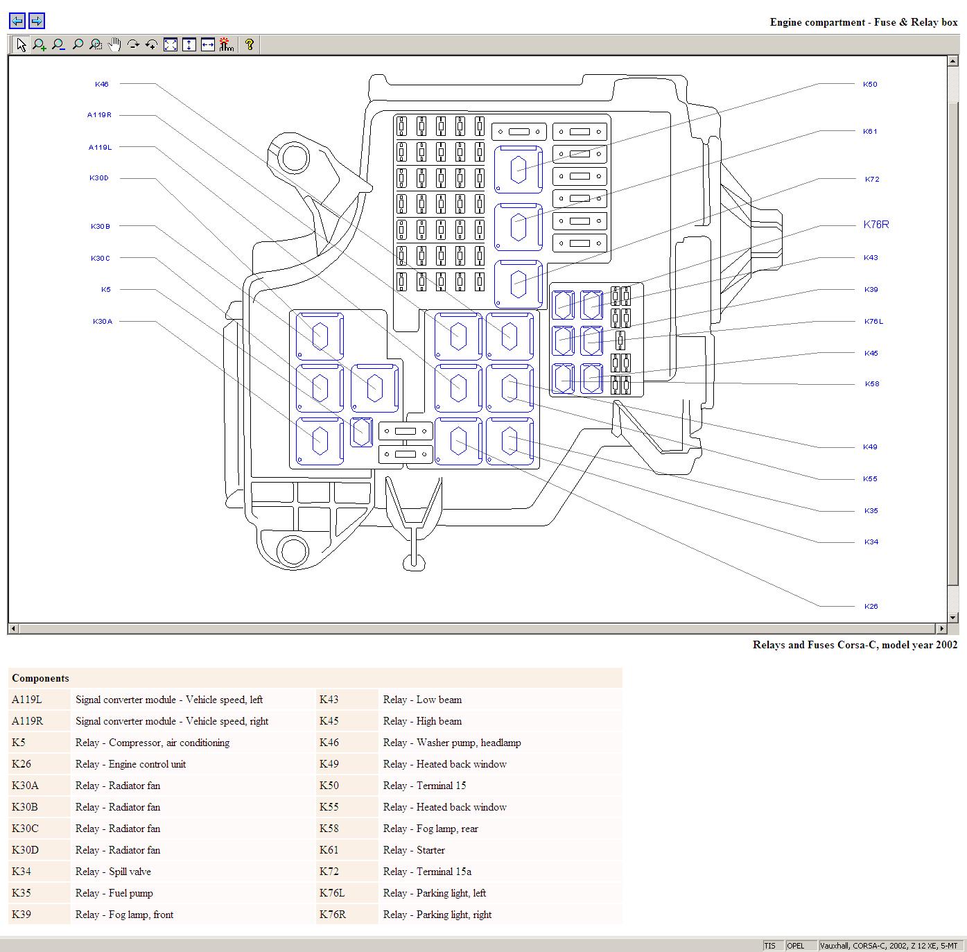 opel corsa bakkie fuse box | load wiring diagrams topic  weekend in milan