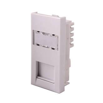 Miraculous Lap Cat 6 Rj45 Grid Module White Modules Screwfix Com Wiring Cloud Xortanetembamohammedshrineorg