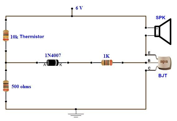Enjoyable Simple Fire Alarm Circuit Using Thermistor Germanium Diode And Lm341 Wiring Cloud Histehirlexornumapkesianilluminateatxorg