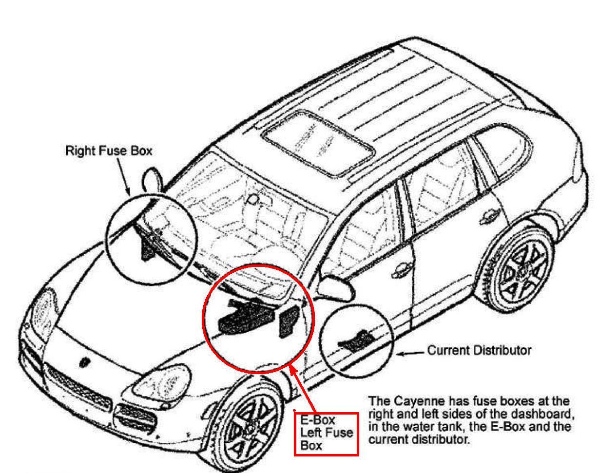 Rt 8901  Porsche Cayenne Wiring Diagram Free Diagram