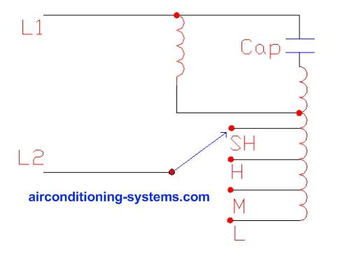 Fine Ac Fan Motor Diagram Basic Electronics Wiring Diagram Wiring Cloud Lukepaidewilluminateatxorg