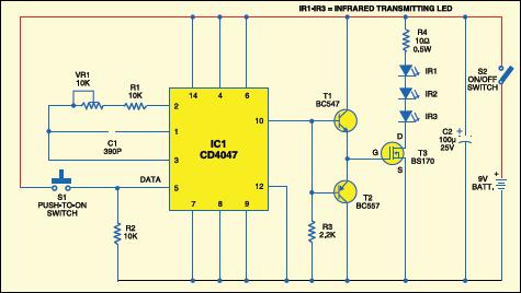 Admirable Long Range Ir Transmitter Detailed Circuit Diagram Available Wiring Cloud Biosomenaidewilluminateatxorg