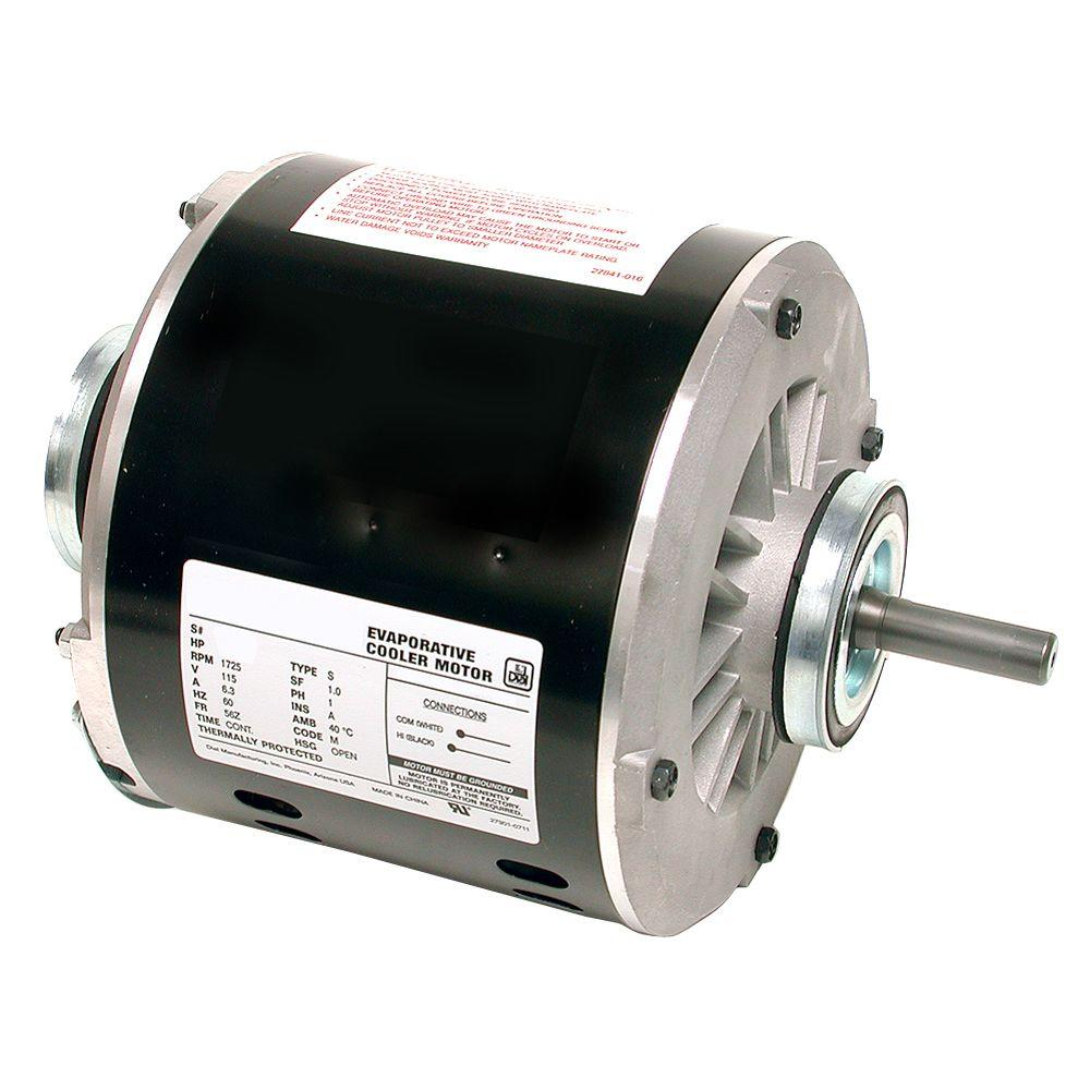 Marvelous 2 Speed 1 2 Hp Evaporative Cooler Motor 2204 The Home Depot Wiring Cloud Filiciilluminateatxorg