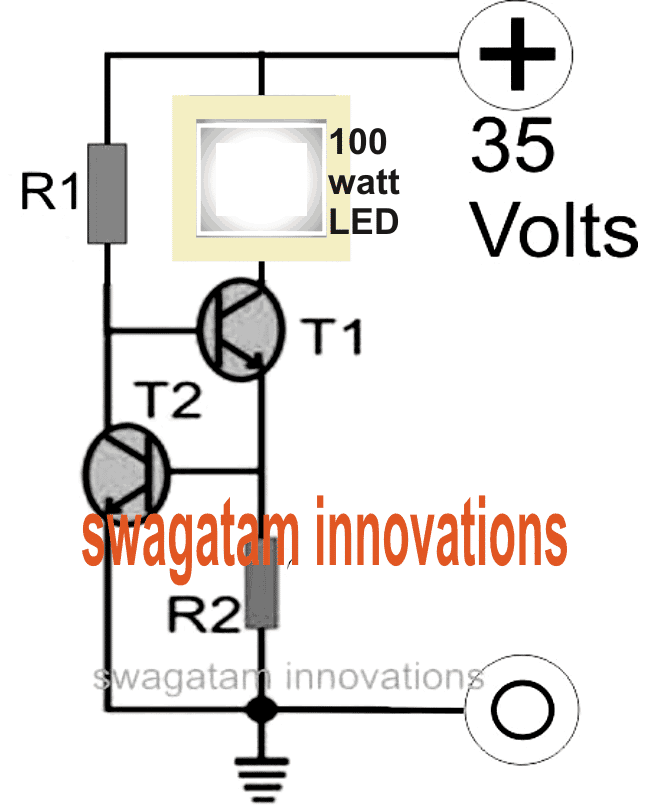 Amazing Make A 100 Watt Led Floodlight Constant Current Driver Homemade Wiring Cloud Domeilariaidewilluminateatxorg