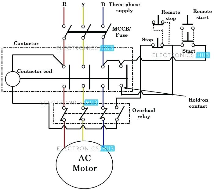 Simple Motor Starter Wiring Diagram from static-resources.imageservice.cloud