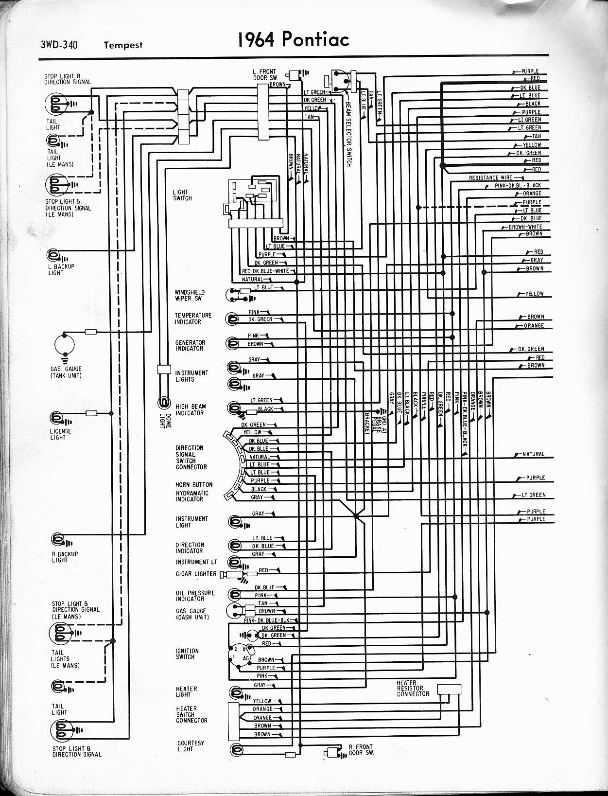 1965 Gto Wiring Diagram - wiring diagram E7 1969 pontiac gto wiring diagram capoeiracre.de