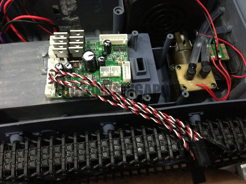 Marvelous How To Install The Tk22 Board On A Stock Heng Long Tank Wiring Cloud Waroletkolfr09Org