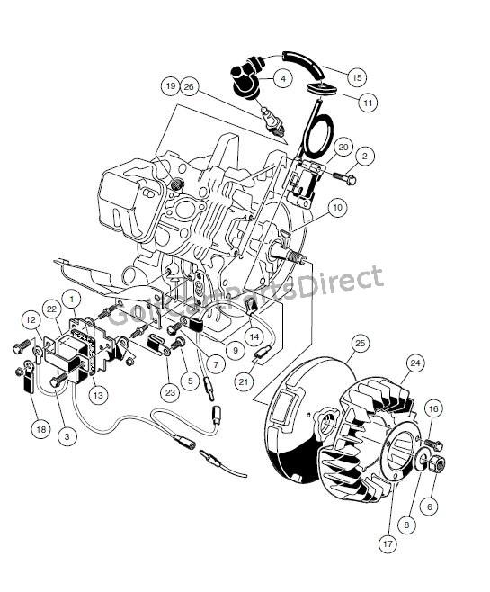 gas golf cart engines diagrams lb 6986  golf cart ignition switch on gas club car golf cart  golf cart ignition switch on gas club