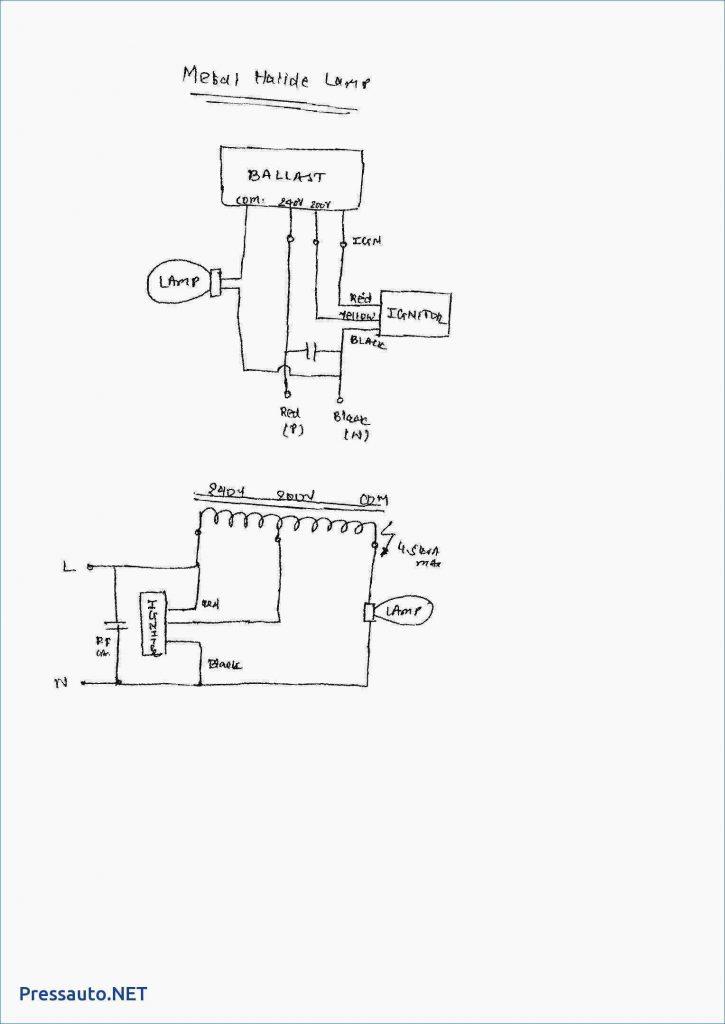 Low Pressure Sodium Vapour Lamp Circuit Diagram