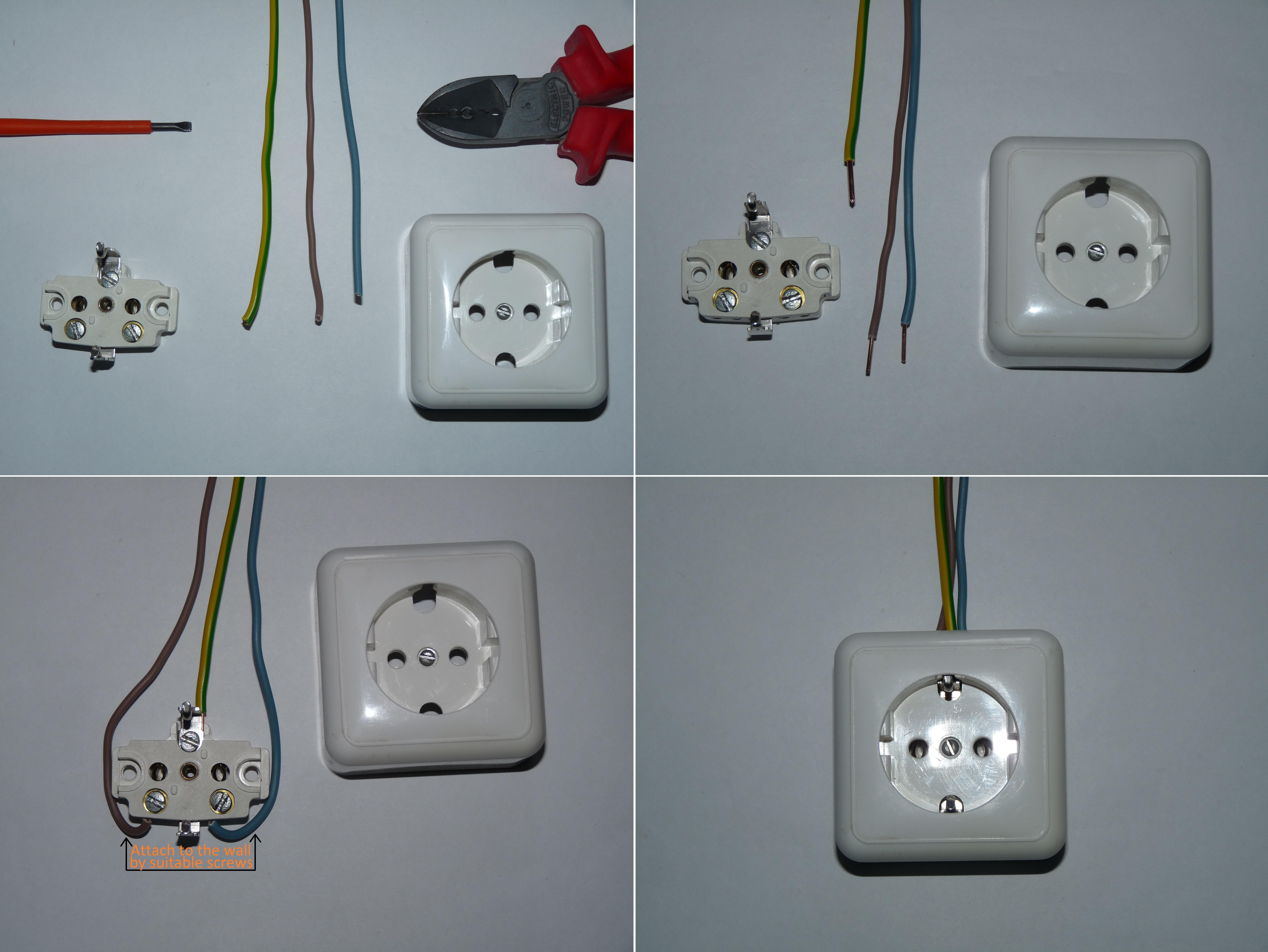 DO_8645] Schuko Socket Wiring Diagram Wiring DiagramXaem Vell Gritea Mohammedshrine Librar Wiring 101